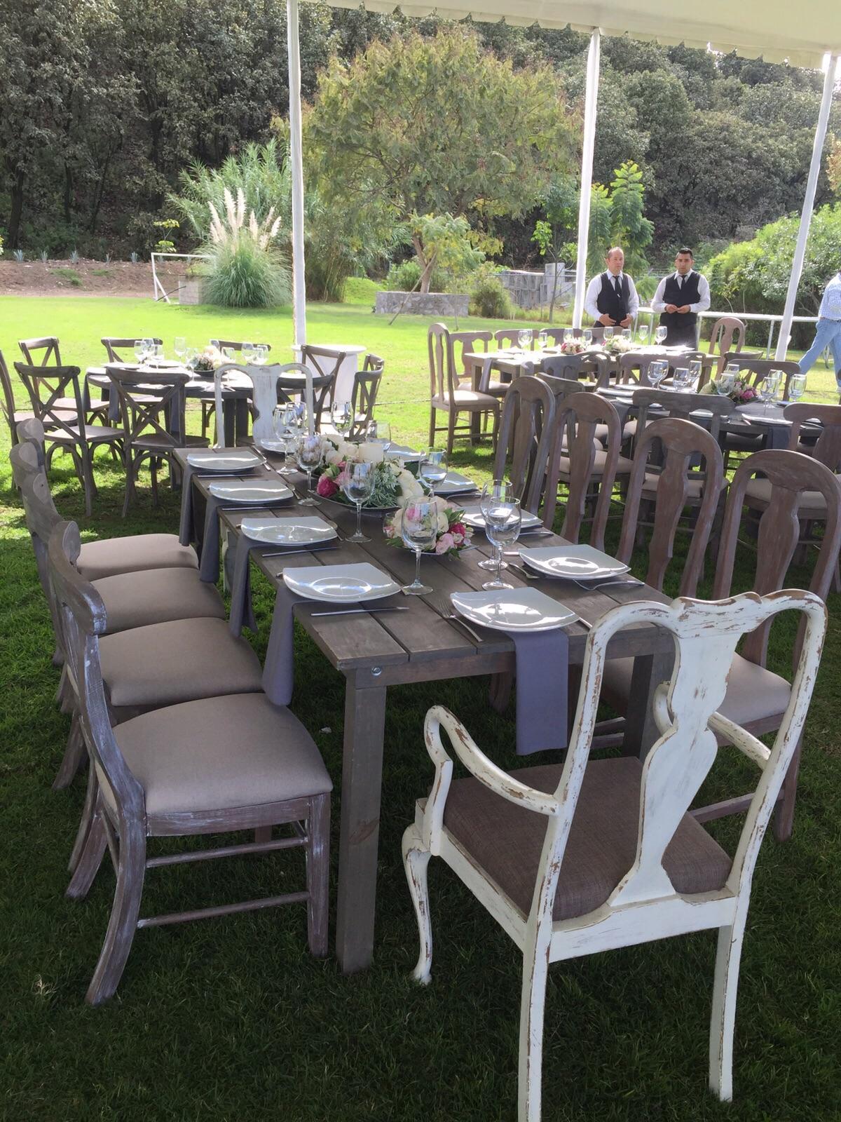Mobiliario xv a os terraza para eventos bodas bautizos for Cubre sillas para 15 anos